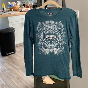 NFL Team Apparel Eagles L/S Shirt